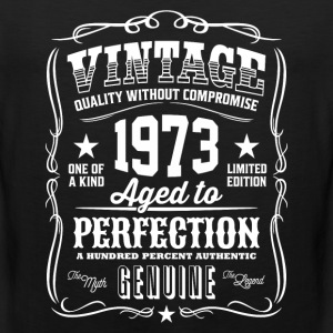 Vintage 1973 Aged to Perfection - Men's Premium Tank