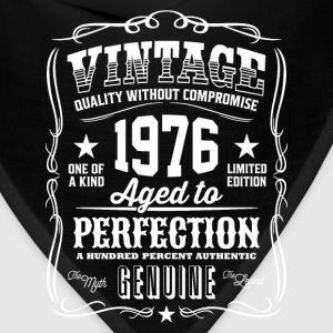 Vintage 1976 Aged to Perfection - Bandana