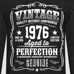 Vintage 1976 Aged to Perfection - Men's Premium Long Sleeve T-Shirt