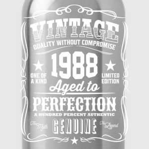 Vintage 1988 Aged - 28th Birthday Gift Idea - Water Bottle