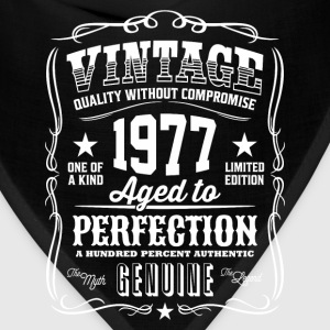Vintage 1977 Aged to Perfection - Bandana