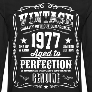 Vintage 1977 Aged to Perfection - Men's Premium Long Sleeve T-Shirt