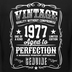 Vintage 1977 Aged to Perfection - Men's Premium Tank