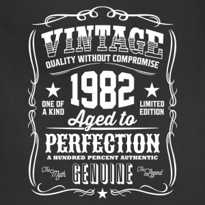 Vintage 1982 Aged to Perfection - Adjustable Apron