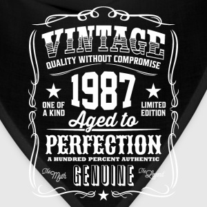 Vintage 1987 Aged to Perfection - Bandana