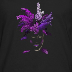 lilac face Tanks - Men's Premium Long Sleeve T-Shirt