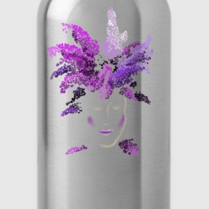 lilac face Women's T-Shirts - Water Bottle