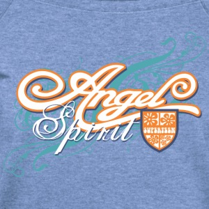 Angel Spirit Women's T-Shirts - Women's Wideneck Sweatshirt