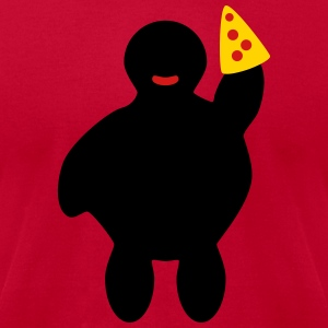 Pizza! - Men's T-Shirt by American Apparel