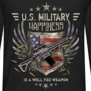Military - Happiness - Men's Premium Long Sleeve T-Shirt