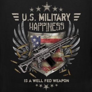Military - Happiness - Men's Premium Tank