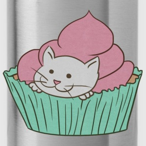 Cupcake Cat Kids' Shirts - Water Bottle