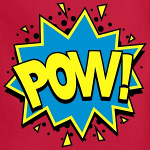 POW! Comic Style Kids' Shirts - Adjustable Apron
