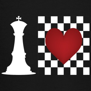 I heart Chess - Chess board with heart Kids' Shirts - Toddler Premium T-Shirt