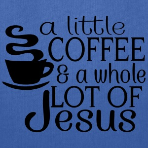 Lil' Coffee Lot of Jesus Tanks - Tote Bag