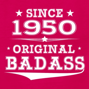 ORIGINAL BADASS SINCE 1950 Women's T-Shirts - Women's Premium Tank Top