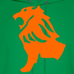 Green Lion Shirt - Men's Hoodie