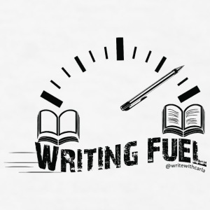 Writing Fuel Mug - Men's T-Shirt