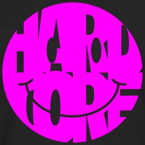 hardcore smiley magenta - Men's Premium Long Sleeve T-Shirt