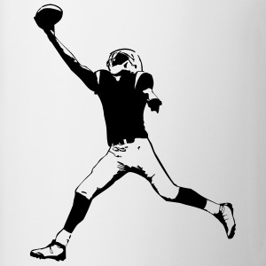 American Football Player T-Shirts - Coffee/Tea Mug