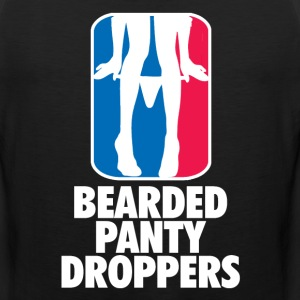 Bearded Panty Droppers T-Shirts - Men's Premium Tank