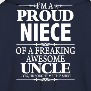 I'm A Proud Aunt Of A Freaking Awesome Uncle - Men's Hoodie