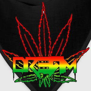Dream Rasta Weed Leaf Hoodies - Bandana