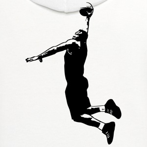 Basketball T-Shirts - Contrast Hoodie