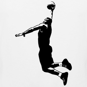 Basketball T-Shirts - Men's Premium Tank