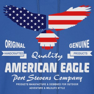 American Eagle - USA Flag T-Shirts - Men's Hoodie
