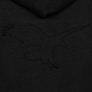 Eagle T-Shirts - Unisex Fleece Zip Hoodie by American Apparel