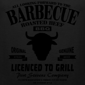 Barbecue  - BBQ T-Shirts - Men's Premium Tank