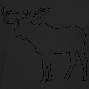 Moose T-Shirts - Men's Premium Long Sleeve T-Shirt