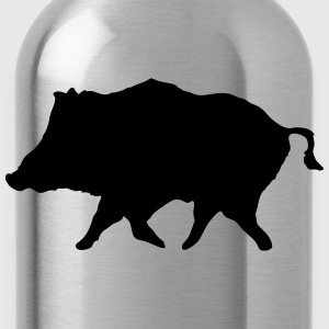 Wild Boar T-Shirts - Water Bottle