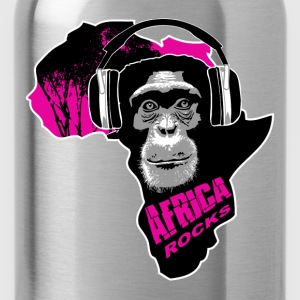 chimpanzee - Africa rocks T-Shirts - Water Bottle