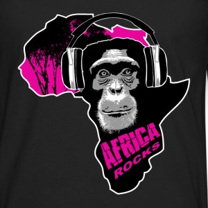 chimpanzee - Africa rocks T-Shirts - Men's Premium Long Sleeve T-Shirt