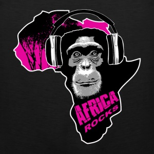 chimpanzee - Africa rocks T-Shirts - Men's Premium Tank