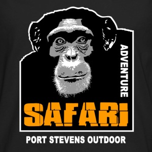 chimpanzee - Safariv T-Shirts - Men's Premium Long Sleeve T-Shirt
