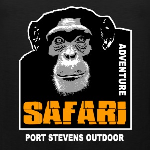 chimpanzee - Safariv T-Shirts - Men's Premium Tank