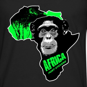 chimpanzee - Africa T-Shirts - Men's Premium Long Sleeve T-Shirt