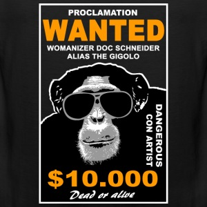 chimpanzee  T-Shirts - Men's Premium Tank