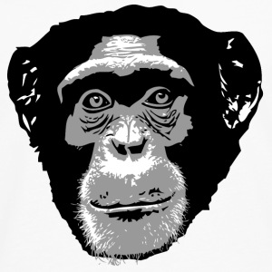 chimpanzee  T-Shirts - Men's Premium Long Sleeve T-Shirt