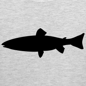 sea trout- brown trout - trout T-Shirts - Men's Premium Tank