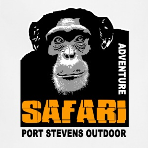 chimpanzee - Safari T-Shirts - Adjustable Apron
