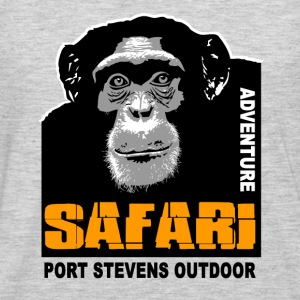 chimpanzee - Safari T-Shirts - Men's Premium Long Sleeve T-Shirt