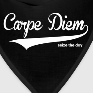 Carpe Diem Seize the Day Quote Women's T-Shirts - Bandana