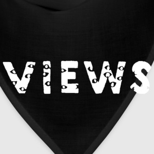 views from the 6 (white) Hoodies - Bandana