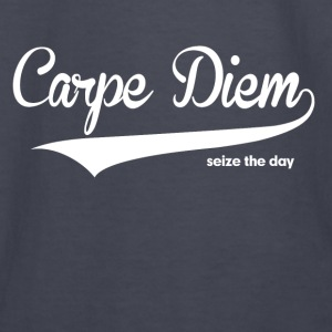 Carpe Diem Seize the Day Quote Hoodies - Kids' Long Sleeve T-Shirt