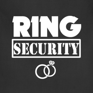 Ring Security Funny Boys Ring Bearer Shirt - Adjustable Apron