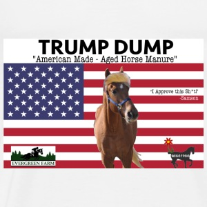 Trump Dump Horse Manure Tanks - Men's Premium T-Shirt